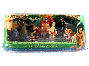 Disney Jungle Book 7 Figure Set [King Louie, Mowgli, Baloo, Kaa, Bageera, Sherekahn]