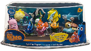 Disney Finding Nemo PVC Mini Figurine Collector Set