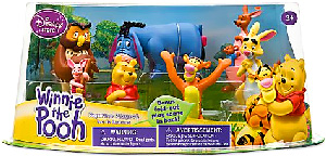 Disney Winnie The Pooh PVC Mini Figurine Collector Set