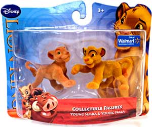 Disney Lion King Mini Figure - Young Simba and Young Nala