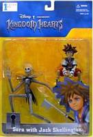 Sora with Jack Skellington