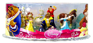 Disney Beauty And the Beast PVC Mini Figurine Collector Set