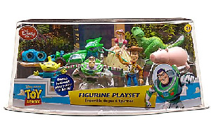 Disney Toy Story PVC Mini Figurine Collector Set[Woody, RC, Rex, Alien, Buzz, Bo, Lenny, Pig]