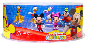 Disney Mickey Mouse Clubhouse PVC Mini Figurine Collector Set