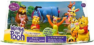 Disney Winnie The Pooh PVC Mini Figurine Collector Set