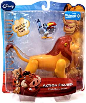 Disney Lion King Mini Figure - Mufasa and Zazu