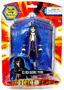 Doctor Who - Clockwork Man Blue Coat