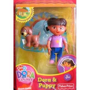 Dora Talking House Figure with Puppy - NON MINT