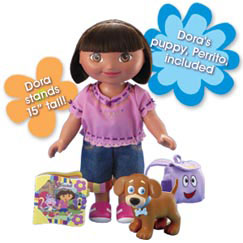 Dress-Up Adventure Dora