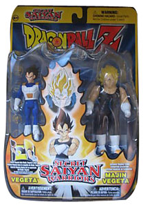 Secret Saiyan Warriors - Vegeta and Majin Vegeta