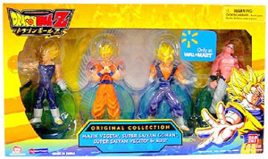 DBZ - Original Collection - Magin Vegeta, Super Saiyan Gohan, Super Saiyan Vegito, and Buu