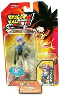 Dragonball GT Original Collection 4-Inch - Trunks