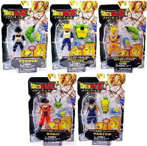 DBZ Ultimate Collection 4-Inch[Build Porunga] - Set of 5
