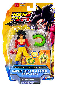 Ultimate Collection 4-Inch[Build Shrenon] - Super Saiyan 4 Goku