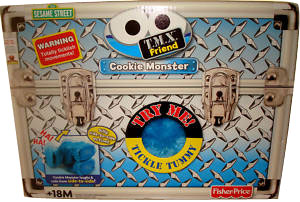 Sesame Street Tickle Me Cookie Monster - TMX