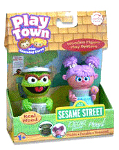 Sesame Street Play Town - Oscar The Grouch and Abby