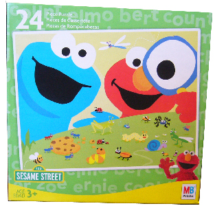 Sesame Street 24 PCS Puzzle - Cookie Monster and Elmo