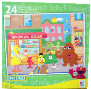 Sesame Street 24 PCS Puzzle - Hoopers Store