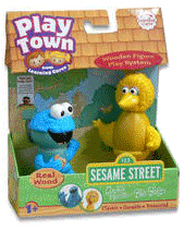 Sesame Street Play Town - Cookie Monster and Big Bird
