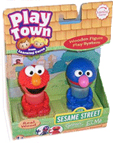 Sesame Street Play Town - Elmo and Grover