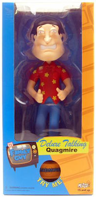Family Guy - 10-Inch Deluxe Talking Quagmire