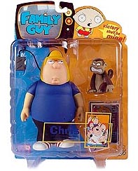 Family Guy Series 1 - Chris Griffin and Evil Monkey