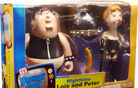 Family Guy 2-Pack Nighttime Lois and Peter