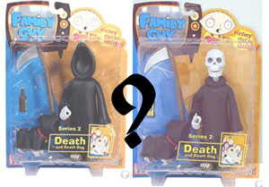 Family Guy Series 2 - Death with Death Dog [RANDOM]