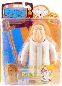 Family Guy Series 3 - The Pope - NON MINT PACKAGE