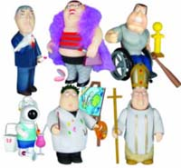 Family Guy Series 3 Set set of 6