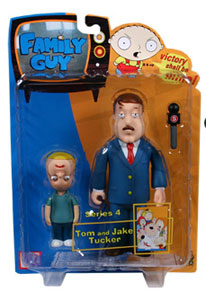 Family Guy Series 4 - Tom and Jake Tucker