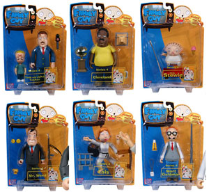 Family Guy Series 4 Set of 6