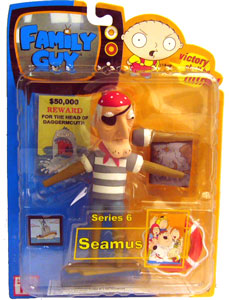 Family Guy Series 6 - Seamus Closed Mouth Variant