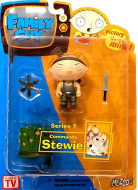 Family Guy Series 7 - Commando Stewie