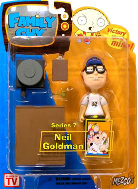 Family Guy Series 7 - Neil Goldman Variant