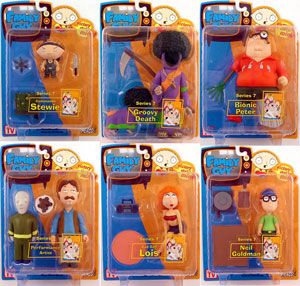 Family Guy Series 7 Set of 6