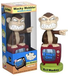 Evil Monkey Wacky Wobbler Series 2