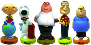 Family Guy Wacky Wobbler Set