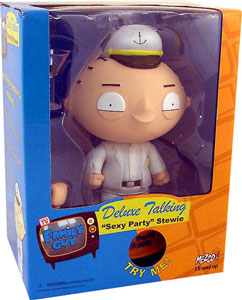 Family Guy - 6-Inch Talking Sexy Party Stewie