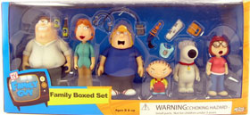 Family Guy - 6-Inch Family Box Set