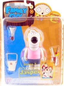 Family Guy Series 3 - Jasper Pink Shirt Variant