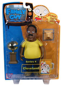 Family Guy Series 4 - Cleveland