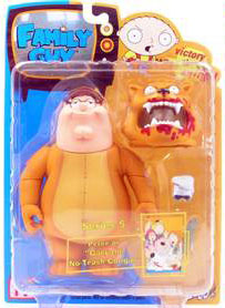 Family Guy Series 5 - Peter as Gary the No Trash Cougar