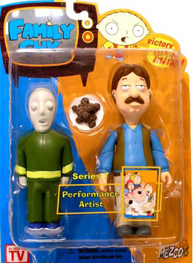 Family Guy Series 7 - Performance Artist - DAMAGE PACKAGE
