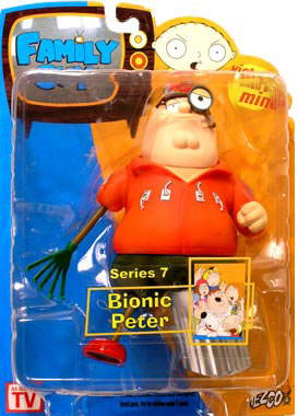 Family Guy Series 7 - Bionic Peter