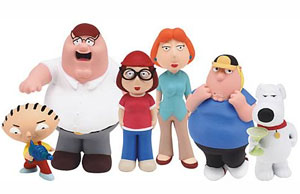 Family Guy Die Cast Set