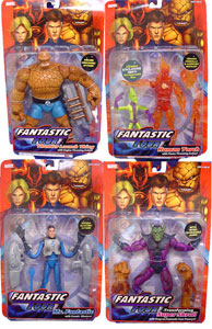 Fantastic Four Classic Series 1 Set of 4