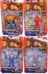 Fantastic Four Classic Series 1 Set of 4 - Full Invisible Variant Skrull