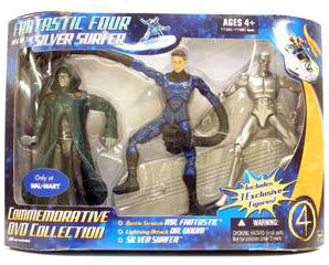 Commemorative DVD Collection - Mr Fantastic Silver Surfer, Dr Doom