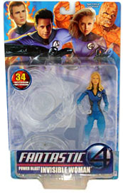 Power Blast Invisible Woman Semi-Invisible